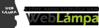 Weblámpa